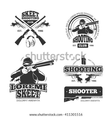 skeet shooting stock images royaltyfree images amp vectors