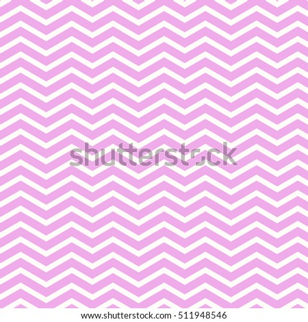 Retro zigzag pattern in pale pink tones