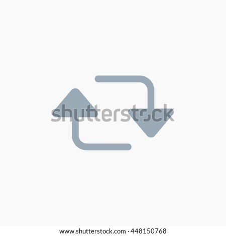 Retweet Ui Elements Twitter Icons Tweet Stock Vector Royalty Free