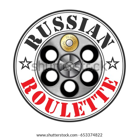 Russian roulette gun game