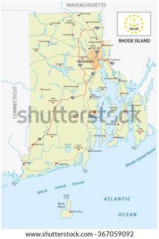 Western United States Map Stock Vector Shutterstock - Road map of western us states
