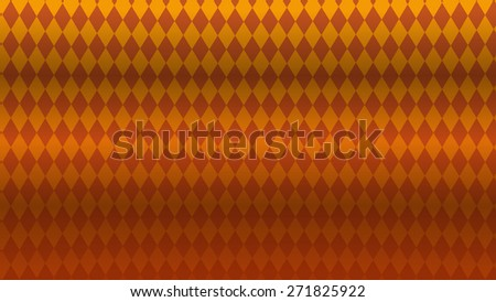 Rhombic pattern. Abstract geometric vector yellow-orange background. Can be used for wallpapers, backdrops, greeting cards, posters. - stock vector
