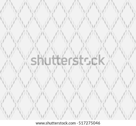 Rhythm soft gray color lattice argyle with connect of parallelogram seamless pattern background.