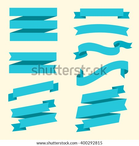 ribbon banners collection different blue banners stock vector rh shutterstock com vector ribbon banner corel draw 2017 vector ribbon banner free