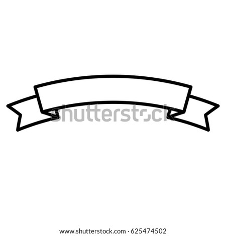 Ribbon Frame Icon Stock Vector (2018) 625474502 - Shutterstock