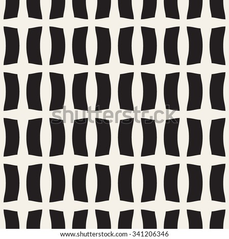 Ribbon seamless pattern. Fashion graphics background design. Modern stylish texture. Monochrome template. Can be used for prints, textiles, apparel, wrapping, wallpaper, website, blog etc. VECTOR - stock vector