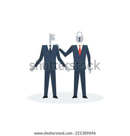 Right approach - stock vector