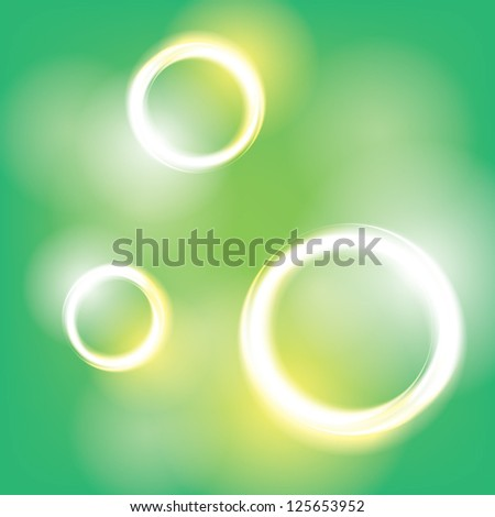 rings. abstract background. eps10 - stock vector