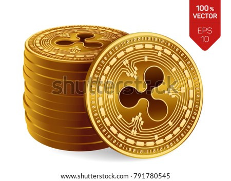 Cryptocurrency Penny Stock Symbol Metal Coins Crypto