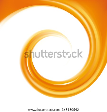 Ripple fluid fond with space for text in glowing white milk center. - stock vector
