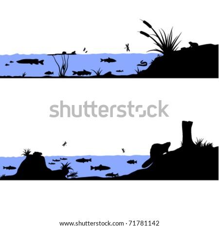 stock-vector-river-life-vector-illustrat