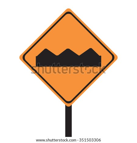 Road Construction Sign Vector - stock vector