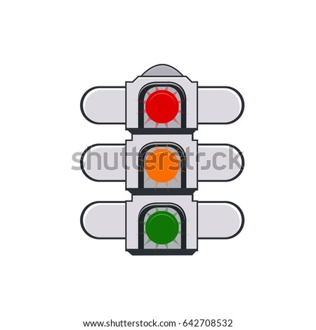 road sign - traffic lights icon