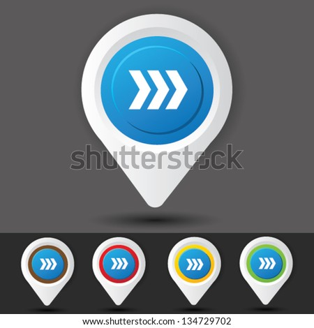 Road sign,vector - stock vector