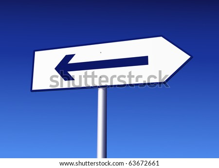 Road Sign with Mistake - stock vector
