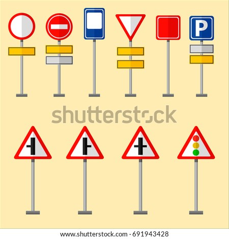 Road Symbols Traffic Signs Graphic Elements Stock Vector. Form Signs. Twin Signs Of Stroke. Inspirational Signs. Learning Center Signs. Awesome Signs Of Stroke. End Cycle Route Signs. Snack Signs. Speed Signs