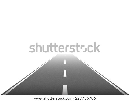 road vector on white background