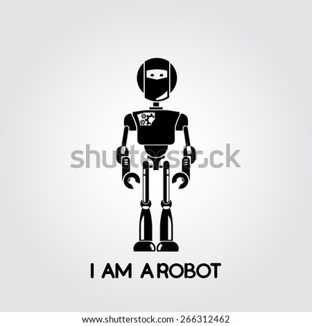 robot - stock vector