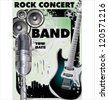 Rock concert - Public viewing - stock
