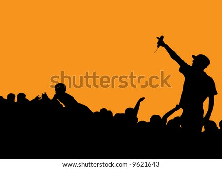 Crowd Surfing Stock Photos, Images, & Pictures | Shutterstock