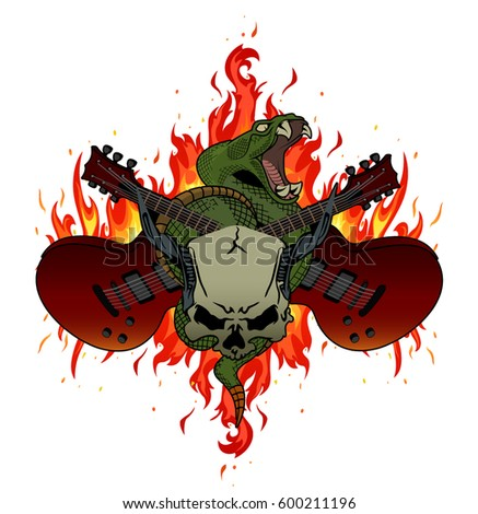 Rock Tattoo Images RoyaltyFree Images Vectors – Tattoo Party Invitations