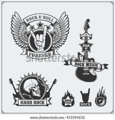 Rock And Roll Stock Images, Royalty-Free Images & Vectors ...