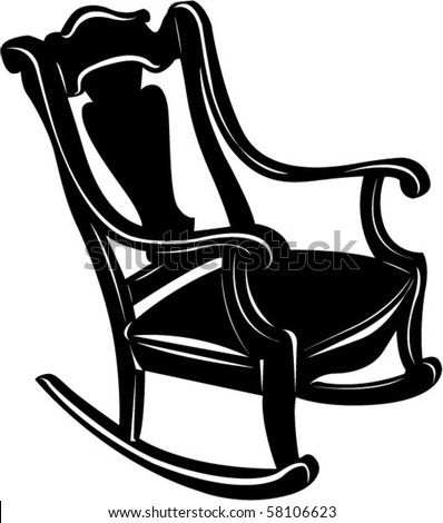 antique rocking chair stock photos images pictures shutterstock. Black Bedroom Furniture Sets. Home Design Ideas