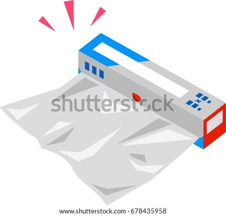 Roll Aluminum Foil Cooking Stock Vector Hd Royalty Free 678435958