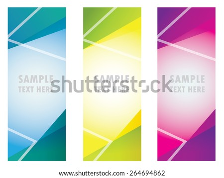 roll up banner, info,color, advertising,display stand - stock vector