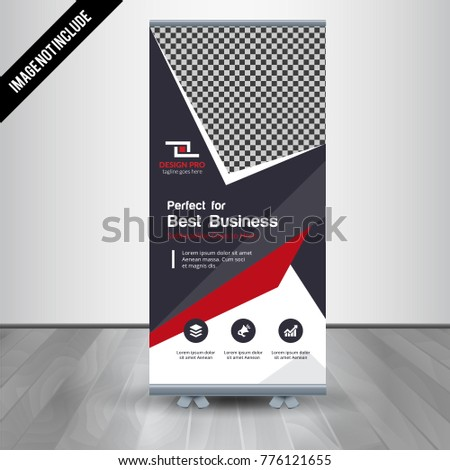 roll up business brochure flyer banner design vertical template vector cover presentation abstract geometric background