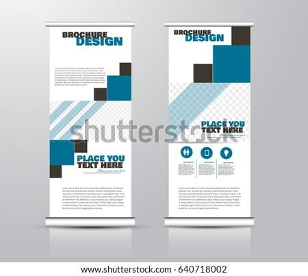Brochure Design Brochure Template Creative Trifold Stock Vector ...