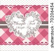 Romantic Card Design or package design - stock vector