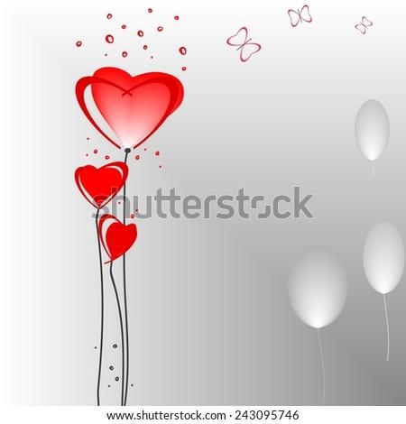 Romantic valentine  backgrounds - stock vector