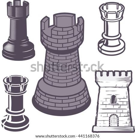 Rook Chess Piece Collection