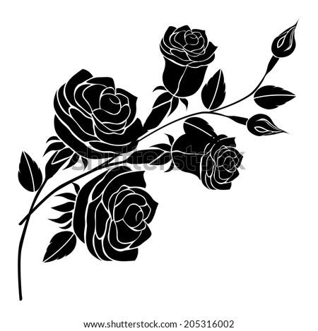 Roses vector stock photo photo vector illustration 205316002 roses vector voltagebd Gallery