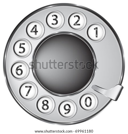 phone rotary dial