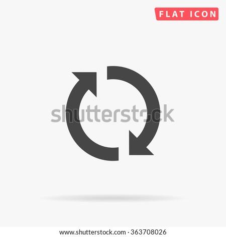 Rotation arrows Icon Vector. Rotation arrows Icon JPEG. Rotation arrows Icon Picture. Rotation arrows Icon JPG. Rotation arrows Icon EPS. Rotation arrows Icon AI. Rotation arrows Icon Drawing - stock vector
