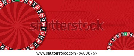 Roulette Background - stock vector