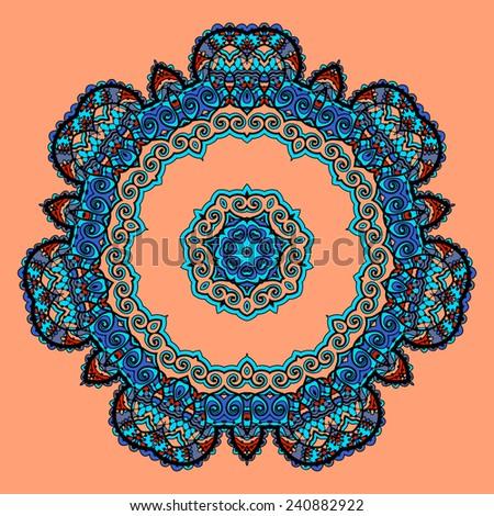 Flower Mandala Iphone Wallpaper Round Mandala Flower Like