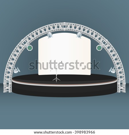 Stage Truss Stock Images Royalty Free Images Amp Vectors