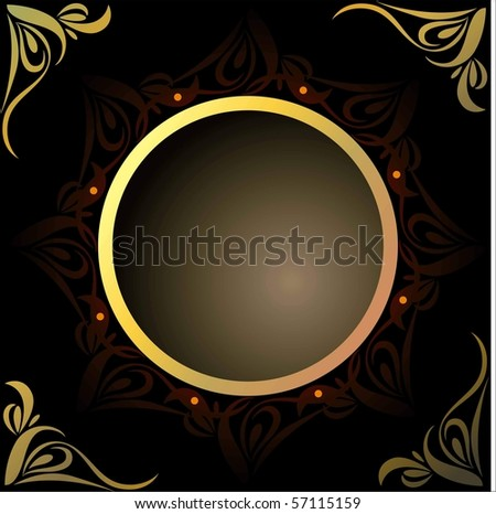 royal design - stock vector