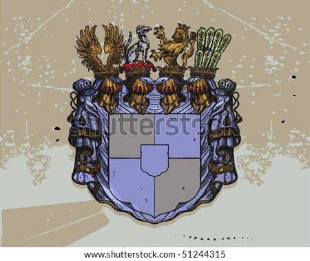 Royal mantle vector - stock vector
