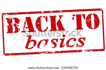 back to basics stock vectors vector clip art shutterstock. Black Bedroom Furniture Sets. Home Design Ideas