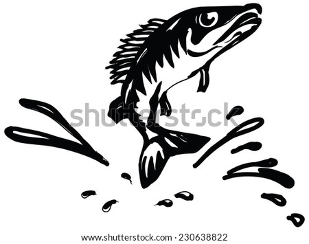 jumping fish stock images, royalty-free images & vectors