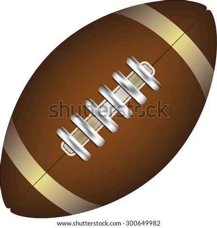 rugby vector illustration - stock vector