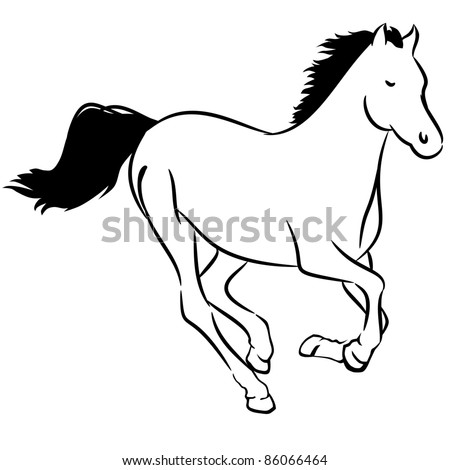 Clipart Of Horse Running. Clipart. Free Image About Wiring Diagram ...