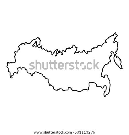 Russia Map Stock Images RoyaltyFree Images Vectors Shutterstock - Russia on a map