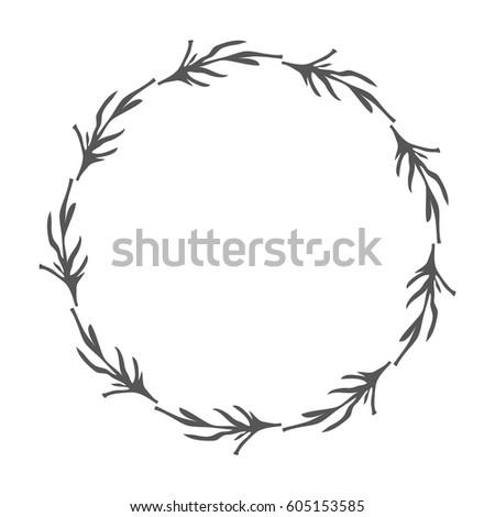 Rustic Branches Plant Design