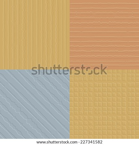 Rustic gold silver and bronze texture backgrounds - stock vector