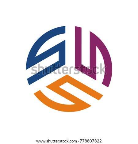 S Logo Ss Sss Logo Design Template Vector Illustration